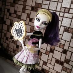 Ghoul Sports - Spectra Vondergeist (MyMonsterHighWorld) Tags: sports monster high doll tennis spectra mattel ghoul 2014 vondergeist