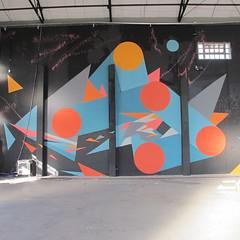 Dificultad&Equilibrio (Julian Manzelli) Tags: street art argentina julian mural arte buenos aires chu tecnopolis doma muralismo muralism intervención manzelli