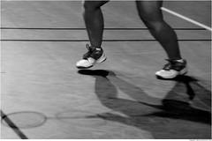 DJ 422 (cadayf) Tags: 33 gironde sport badminton people jambe leg ombre shadow nb bw