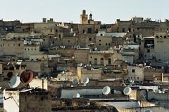 partir loin (michel nguie) Tags: michelnguie film analog mahgreb roof view sky fes fs fez marocco medina africa