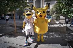 Welcome to Madrid. (f22photographie) Tags: madrid madridstreetscene streetscenes citylife cityscene streetperformers yellow footballkit