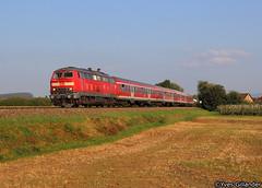 DB Regio 218 456, Kressbronn 26.09.2016 (Trainspotting-Wiki) Tags: 218 456 kressbronn lindau friedrichshafen ravensburg db regio