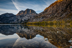 June Lake Loop Morning Reflection (Jeffrey Sullivan) Tags: mono county easternsierra sierranevada leevining california united states usa landscape nature photography canon eos 6d photo copyright 2016 jeff sullivan october junelakeloop fall colors reflection aspen morning