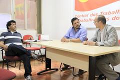 Hisashi Konno, da União dos Trabalhadores Metalúrgicos, Maquinários e de Informática do Japão (JMIU), visita a sede da CTB (Portal CTB) Tags: hisashikonno adilsonaraujo ctb zenroren sindicato internacional japao visita metalurgicos informatica intercambio brasil sãopaulo jmiu