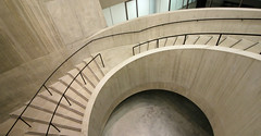 Switch House Spiral (shadow_in_the_water) Tags: stairs spiralstair staircase concrete theswitchhouse newtatemodern tatemodern architecture herzogdemeuron artgallery banksidepowerstation bankside london se1