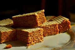 Cream fudge waffers - yummy :-) (ChemiQ81) Tags: wafle vafle kajmak kajmakiem krówka cream food yummy mniam jedzenie sweets słodycze