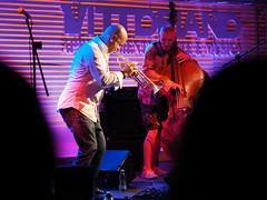 Flavio Boltro BBB Trio_036_4518 (Dubliner_900) Tags: olympus omdem5markii micro43 paolochiaromonte mzuikodigital45mm118 roma rome lazio flavioboltro maurobattisti vittoriano jazz