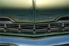 1959 chevy impala detail (pixel fixel) Tags: 1959 chevrolet fundraiser green impala pinstriping ronmedina socaltribe whittier whittierhighschool