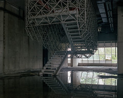 () Tags: film kodak portra160 brokenviewnet urbex urbanexploring abandoned decayed decay abandonment hospital stairs explored