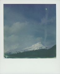 Mt. Hood (feedmyhungryeye) Tags: polaroidweek mthood day6 oregon impossibleprojectfilm sx70 polaroid