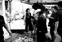 Market Day#7... (HARU1231) Tags: snapshot candid streetphoto street blackandwhite film korea city