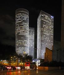 DP3M1822-8 (moshayovd) Tags: sigma dd3 merrill city tel aviv night long exposure תל אביב יפו מתחם שרונה פנורמה לילה מגדלי עזריאלי