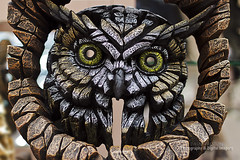 ORNAMENTAL OWL SCULPTURE (dppdi (2003-2016)) Tags: gordale thewirral cheshire england uk sculpture owl ornamental