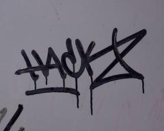 Hack (marcn) Tags: nh nashua newhampshire unitedstates us graffiti