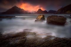 Elgol, Skye. (devlin11) Tags: skye isleofskye scotland scenery seaside exposure landscapephotography landscape tranquil light elgol