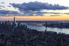 New York from Empire State (Kybenfocando) Tags: empirestate newyork newyorkcity manhattan empire traveler traveling viajar landscape