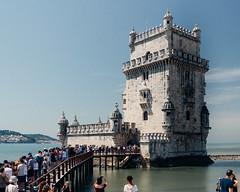 Visiting Torre de Belem (V.H. Belvadi) Tags: belvadi d600 europe lisboa lisbon mediterranean nikkor2485mmafsgedvr nikon portugal portuguese vhbelvadi venkatram venkatramharishbelvadi dslr travel vhbelvadicom torredebelem belemtower