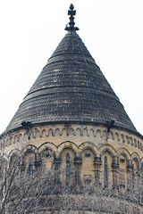 Tower (K.G.Hawes) Tags: architectural architecture art cemetery graveyard sculpture stone stonework tower turret roof arch arches arched