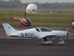 G-BYJL Pulsar 3 (Aircaft @ Gloucestershire Airport By James) Tags: gloucestershire airport gbyjl pulsar 3 egbj james lloyds