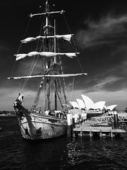 (billiejenn) Tags: photography blackandwhite australia harbour sydney