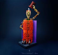 06 - Draco's Detour (Melan-E) Tags: harry potter rowling half blood prince afol lego moc creation magical journey