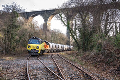 RJW_2016_12_07 _2432 (Rails West) Tags: colas70 cornishbranches cornwall locations moorswatercement moorswaterworks cement class70