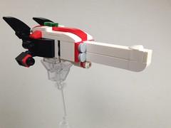 V29 Missile Corvette (TenorPenny) Tags: lego microscale microspace corvette