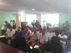 Reunión en oficinas de Tuxtepec para brindar atención al conflicto suscitado en Jalapa de Diaz referente al tema de transporte (1)