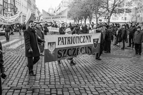 Independence Day  11th November, Stettin-Szczecin, Poland.