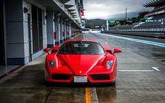 Enzo (ayeshonline) Tags: ferrari enzo ferrarienzo v12 paganiraduno japan fuji track hypercar carsoftokyo car cars automotive auto japanese