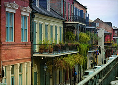 New Orleans architecture and colours (marneejill) Tags: french quarter new orleans architecture colourful colorful houses buildings ornate balcony