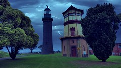 The Black Lighthouse (Ross Major) Tags: lighthouse black queenscliff victoria australia gs6 highlight fort