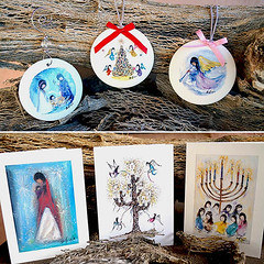 The Gallery in the Sun has a great assortment of holiday products! (DeGrazia Gallery in the Sun) Tags: teddegrazia degrazia ettore ted artist nationalhistoricdistrict nonprofit foundation galleryinthesun artgallery gallery adobe architecture tucson arizona az santacatalinas desert giftshop products holiday gifts