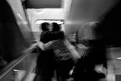 Barajas abbraccio (stefanovillanova) Tags: abbracci embras abraszos barajas madrid mercedes clara bw blackandwhite blackwhite nikon viaggio viaggiare travel viaje airport aeropuerto aeroporto
