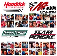 NASCAR Teams, Hendricks Motorsports, Joe Gibbs Racing, Roush Racing, and Team Penske, (Picture Proof Autographs) Tags: rogerpenskeracingrustywallacejoeyloganokurtbuschjustinallgaierryannewmanjeremymayfieldsamhornishbradkeselowski2millergenuinedraft12mobile112alltel9dodge roushracingjackroushmarkmartin6valvolinegregbiffle16grangermattkenseth17dewaltcarledwards99officedepotjeffburton8raybestoschadlittle97johndeerekurtbusch97sharpierubbermaid joegibbsracingjoegibbscorygibbsdennyhamlinmattkensethcarledwardsbobbylabontedalejarretttonystewart20homedepot18interstatebatteries11fedex20dollargeneraldewalt19stanley rickhendricksracingrickyhendricksjeffgordon24dupontjimmiejohnson48lowesdaleearnhardtjr88terrylabonte5kelloggsgeoffbodine15kaseykane5kennyschrader25 rickhendricksracing rickyhendricks jeffgordon 24 dupont jimmiejohnson 48 lowes daleearnhardtjr 88 terrylabonte 5 kelloggs geoffbodine 15 kaseykane kennyschrader 25 joegibbsracing joegibbs corygibbs dennyhamlin mattkenseth carledwards bobbylabonte dalejarrett tonystewart 20 homedepot 18 interstatebatteries 11 fedex dollargeneral dewalt 19 stanley roushracing jackroush markmartin 6 valvoline gregbiffle 16 granger 17 99 officedepot jeffburton 8 raybestos chadlittle 97 johndeere kurtbusch sharpie rubbermaid rogerpenskeracing rustywallace joeylogano