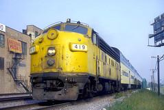 C&NW F7 419 (Chuck Zeiler) Tags: cnw f7 419 railroad emd locomotive chicago train chz chuck zeiler