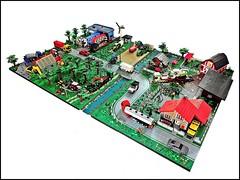Farm (3) (keko007) Tags: lego kockice farm john deere deutz fahr land rover scania claas jaguar actros porsche mini morris arocs arion volvo man steyr iveco trakker new holland citroen jumper hummer bmw audi r8