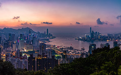 Hong Kong (adrianchandler.com) Tags: adrianchandler architecture asia asian canon5dsr city cityscape exterior hk hongkong night nightphotography nightscape outdoor panorama urban dark dusk evening skyline skyscrapers buildings