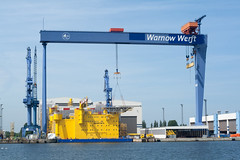 Warnow Werft (gluecksaktivist) Tags: germany seaside warnemnde shipyard rostock warnowwerft