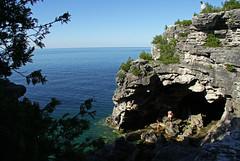 The Grotto (Daniel Skoog) Tags: brucepeninsula canada ontario nationalpark