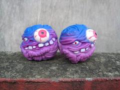 Ugly Balls (The Moog Image Dump) Tags: toy vinyl balls eyeball ugly horror bootleg deformed madball