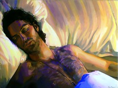 A Dream Within A Dream (VisionSisters) Tags: art bed sleep dream beinghuman aidanturner maryowczarski visionsisters