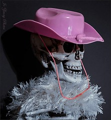 Make My Day-Pink! (watercolour & colour select) (Weather Cooling Down...Nice!!!) Tags: pink skeleton hats cowgirl twiggy odc colourselect clinteastwoodimpression