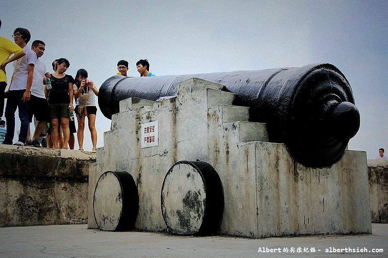 虎門威遠砲台-主砲台