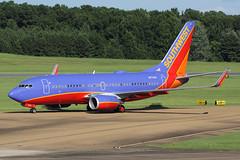 Southwest Airlines Boeing 737-7BD N7735A (Flightline Aviation Media) Tags: southwest mississippi airplane airport jan aircraft aviation jackson boeing airlines 737 stockphoto 737700 canon50d 7377bd kjan bruceleibowitz 2294851