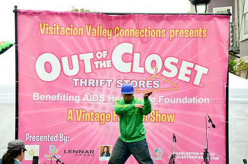 Out of the Closet at the Visitacion Valley Market Bazaar (