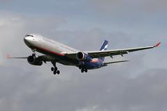 Aeroflot Airbus A330-343E (nickchalloner) Tags: london heathrow airport lhr egll myrtle avenue airbus a330343x a330343 a330300x a330300 a333 343x 343 300x 300 aeroflot su afl vqbqx 300343e 343e