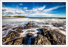 The Bluff DEvonport (Sean Savery Photography) Tags: ocean longexposure sky clouds waves sony tasmania devonport thebluff bassstrait a99 sonycarlzeiss1635mmf28