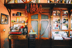 (Rawlways) Tags: old coffee sausage expresso saloon colacao