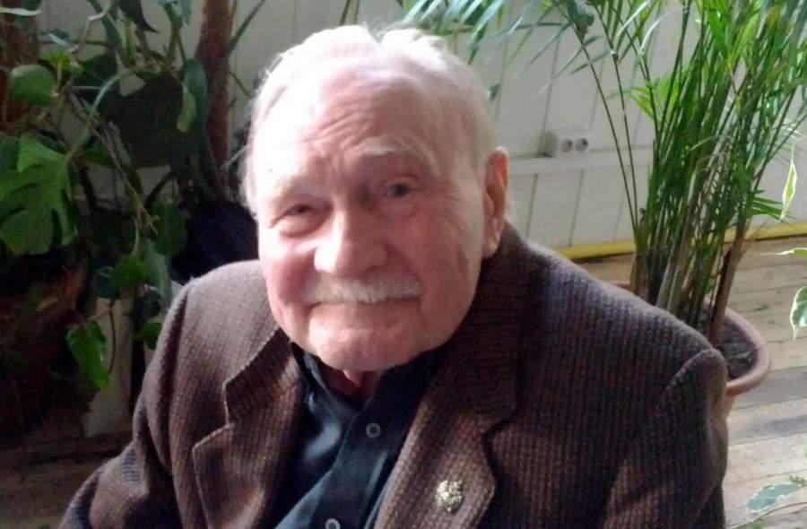 Георгий Михайлович Садовников на своём 80-летии, в апреле 2012